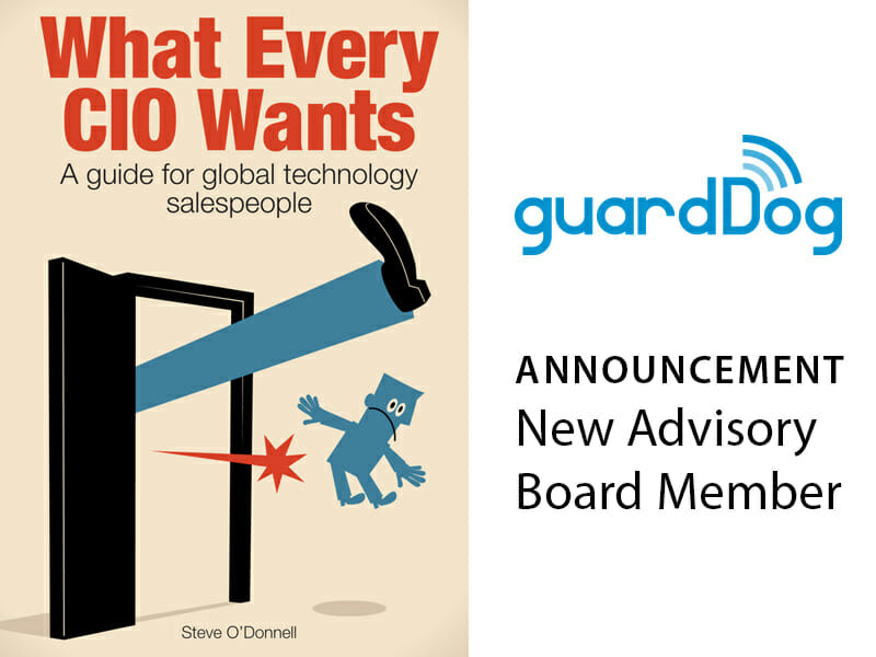 Stephen O'Donnell Joins guardDog.ai Advisory Board